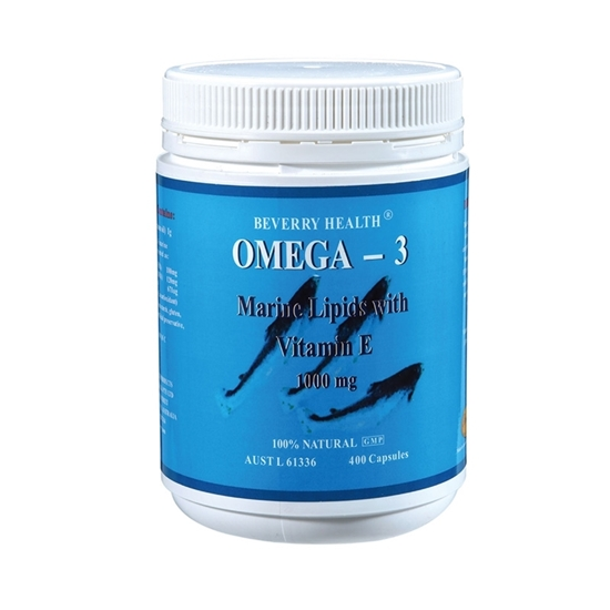 Beverry omega 3 fish oil 1 000mg 400 capsules beverry for Omega 3 fish oil benefits skin